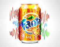 Graphic Designer's Fanta Can