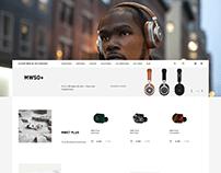 Masterdynamic — concept e-commerce