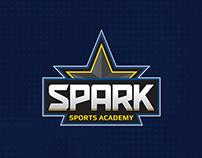 Sparks Sports Academy - Branding