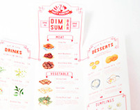 Dim Sum Bar takeout menu