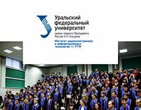 Сайт для УрФУ - Уральский Федеральный Университет