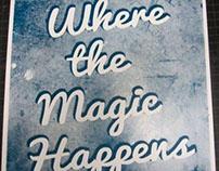 "Jerk's ""Where the Magic Happens"" poster series"
