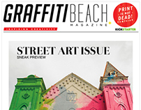 Graffiti Beach Magazine Marketing Material