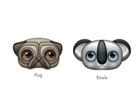 Zoom-eyed creatures pack 1 (Animals)