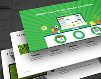 PowerPoint Template - Work Report