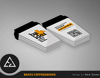 Bakku Coffee&Books Business Card
