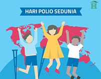 Infografis Hari Polio