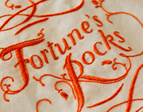 Fortune's Rocks - embroidered book cover