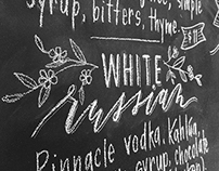 Willistead Restaurant Cocktail Menu