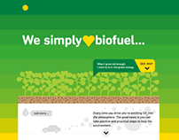 Marketing microsite - BP biofuels