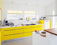 Yellow kitchen, Marstrand