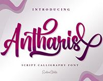 Free Antharis Script Font