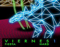 "Fiesta ""HARD TIMES"" - Central Eléctrica Discos"