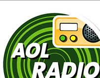 Creation of AOL Radio's sticker