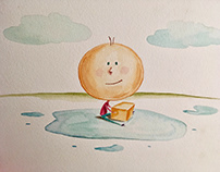 Children's Book Illustration Stylized sample