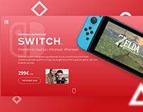 Nintendo SWITCH – animation design