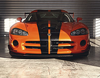 Dodge Viper SRT10 ACR – Full CGI