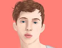 Troye Sivan Digital Drawing