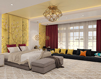 Master yellow bedroom :)