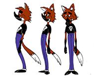 Model sheet personagem pós-animação