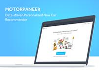 Motorpaneer - Personalised Car Recommendations.