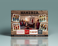 Namibia Indumentaria - Redes Sociales + Folleto