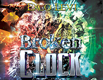 Exco Levi Broken Clock Album Cover Design