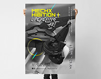 Mechxhibition Visual Identity