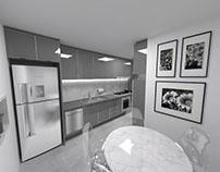 Cozinha Cinza | Grey Kitchen