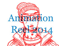 Animation Reel 2014