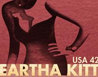 Eartha Kitt Stamps