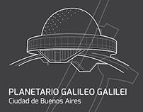 Intervención - Planetario Ciudad de Buenos Aires