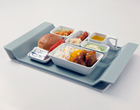 Tidy Wing _ Inflight meal set