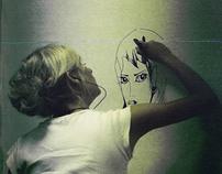 Hobo's wall drawing