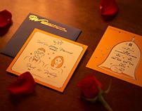 Fred & Wendy Wedding Invitation Card