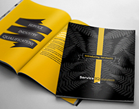 Corporate Brochure Design – Introducing ServiceIQ