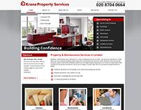 Webdesign for Krane Group