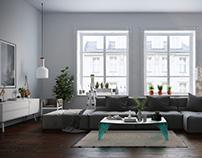 White Livingroom No:2