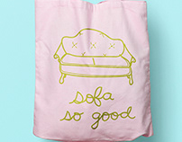 Sofa So Good Tote Bag