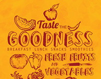 Taste the goodness/ Humzinger