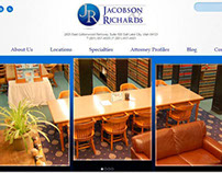 Jacobson & Richards Law Firm Web Design