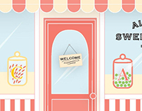 Alphabet Sweet Shoppe