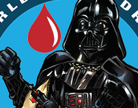 World Blood drive Star wars