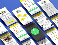 Mobile App for professional networks