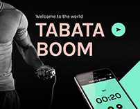 Mobile application design - Tabata timer