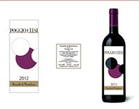 Poggio Celsi - proposte per etichetta vino