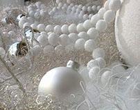 Vetrina per negozio abbigliamento - Natale 2012