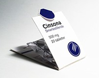 Cinsona - medicine packaging