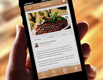 Food iPhone App Template