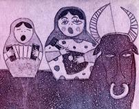 Postcard on Women's Day